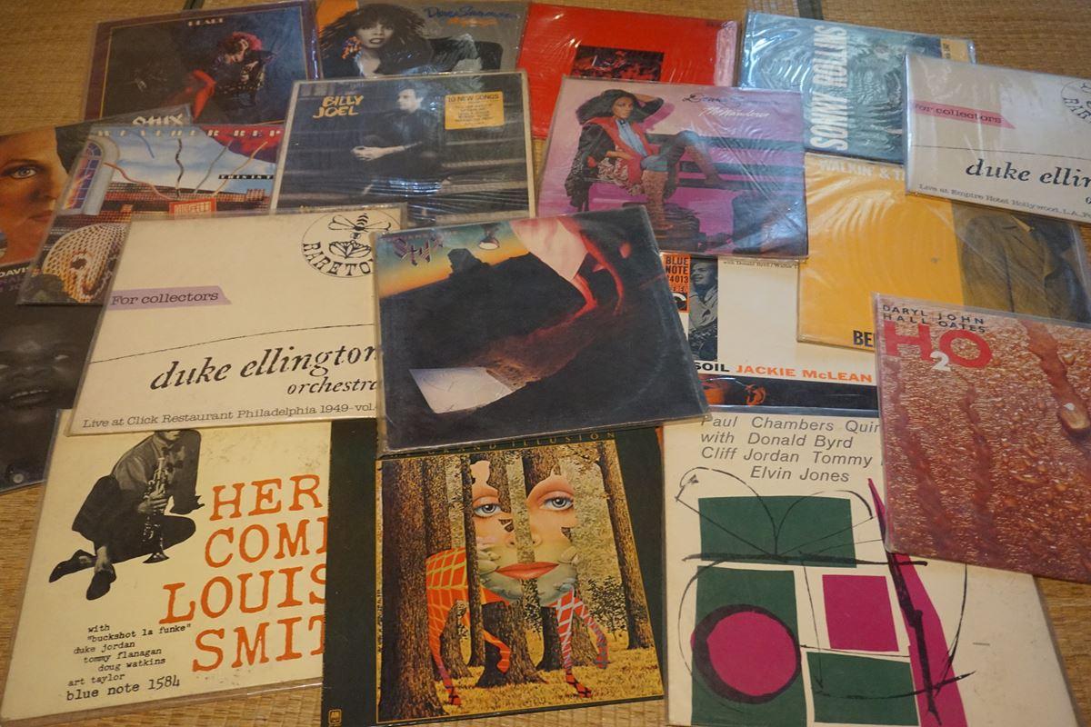 レコードがいっぱい