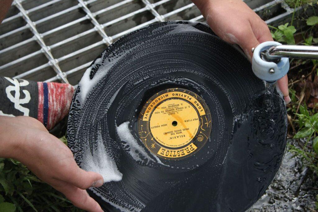 レコードすすぎ